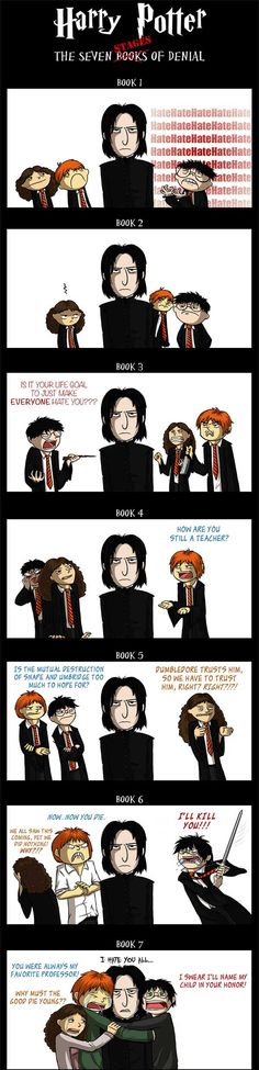 Harry Potter and the Seven Stages of Denial.
