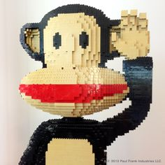 Today for Throwback Thursday we are sharing our Lego Julius! It stands about 4 feet tall! How many Legos is that?