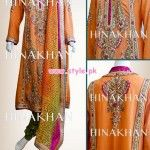 Hina Khan Latest Bridal And Formal 2013 Collection