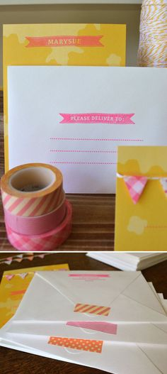 This week I'd been given the distinct honor of creating a baby shower invitation for my SIL, the esteemed Marysue Rucci of Simon & Schuster. Lucky me! After