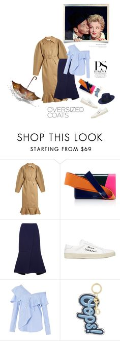 """""""Come rain or come shine"""" by iriadna ❤ liked on Polyvore featuring A.W.A.K.E., Paul Frank, Delpozo, Marni, Yves Saint Laurent, FAIR+true, Anya Hindmarch, Boohoo, casualoutfit and whitesneakers"""