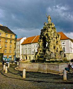 Parnasova fontána na Zelném trhu