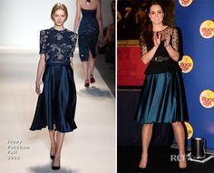 Catherine, Duchess of Cambridge In Jenny Packham – The Place2Be Wellbeing Schools Awards Reception