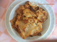 Cresciuti a Pastasciutta!: Lasagne con crema di ricotta e pomodoro. Norma e g...