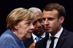 """Emmanuel Macron sur l'Allemagne: la France n'a """"pas intérêt à ce que ça se crispe"""""""