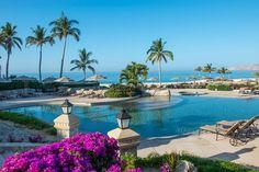 Pool on the beach at Casa del Mar Cabo, Los Cabos, Baja California, Mexico