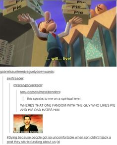 haha there you are supernatural fandom ;)