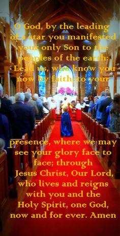 January 6, 2013-Epiphany Sunday. Wise Men in our Procession.
