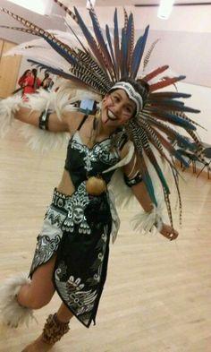 Me yesterday #Aztecprincess #calpullitonalehqueh