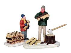 Lemax Stacking Firewood, set of 2
