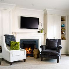 Living Room Mismatched Chairs Design, Pictures, Remodel, Decor and Ideas
