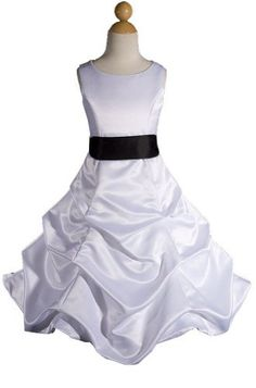 AMJ Dresses Inc Girls White/black Flower Girl Pageant Dress Size 8 AMJ Dresses Inc,http://www.amazon.com/dp/B0094MRPCQ/ref=cm_sw_r_pi_dp_vK6Mrb27FB574295