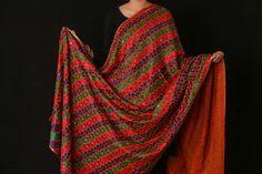 Traditional Phulkari Cotton Bhara Bagh Work Dupatta