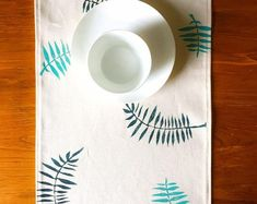 Freshen up your table decor with an organic cotton canvas table runner. This fabric is excellent as a runner because it is heavy enough to not slip around, but is relatively stain resistant and washes up nicely! Sustainable Textiles, Table Runners, Cotton Canvas, Organic Cotton, Etsy Seller, Colours, Gift Ideas, Table Decorations, Creative
