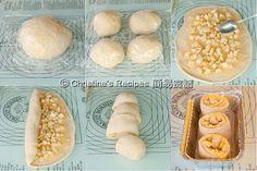 Apple Custard Buns (Tangzhong Method)  from Christine�s Recipes