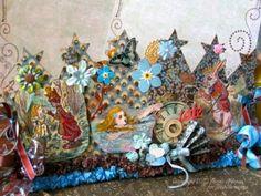 Alice in wonderland crowns by VisionsofVenus. $165.00