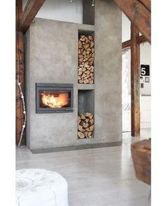 via @homeadore: Modern Living Room #livingroom #fireplace #interior #interiors #interiordesign #design #architecture #modern