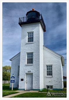 Sand Point Lighthouse, Escanaba, Michigan