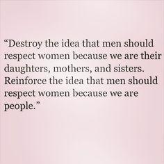 Feminist inspiration from @feministastic on Instagram: Repost from @femme_autumn