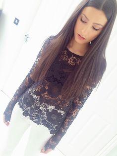 Belle Black Lace