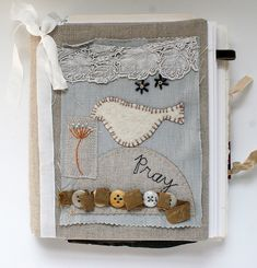 Art Quilt Journal (pray) by Rebecca Sower, via Flickr