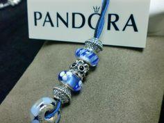 Pandora Necklace On Cotton Cord