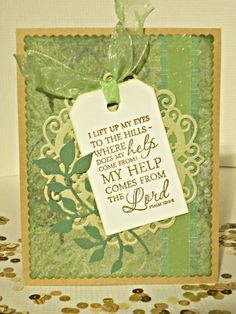 Handmade card by Janis using the Scripture Medley 2 stamp set from Verve. #vervestamps