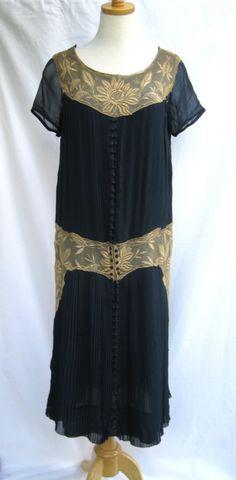 All The Pretty Dresses: Sweet Day Dress 20s Fashion, Fashion History, Art Deco Fashion, Vintage Fashion, Victorian Fashion, Dress Fashion, Vintage Dresses, Vintage Outfits, Vintage Clothing