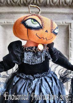 Pumpkin Doll by Joyce Stahl