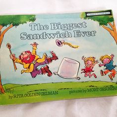 The Biggest Sandwich Ever  Vintage Kid's Read by RetroVintageHeart