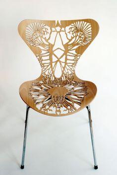 Australian artist Lisa Jones (lisajonesnet) made a series of these, each representing a human organ system.