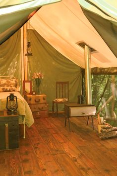Go glamping in style. KARLIJN I'll go with you! :D