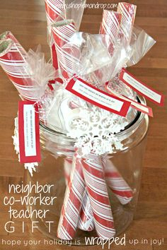 Three Minute $ 3 Gifts for Neighbor, Co-Worker, Teacher or Friend @shoplemondrop
