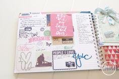 Create Well Create Often: Heidi Swapp - February Memory Planner