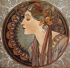 Art Nouveau by Alfons Mucha