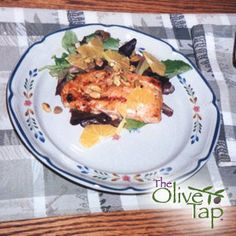 Olive Oil Poached Salmon Citrus Salad...Delicate, moist poached salmon ...