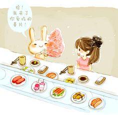 sushi bar date <3 Preggo sushi dates. @ashes Crumpley