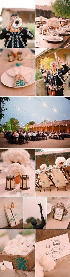 Rustic Spanish Themed Wedding Rehearsal Dinner - Cherise and Aaron