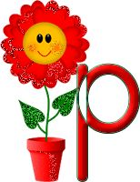 Alfabeto tintineante con maceta feliz. | Oh my Alfabetos! The Letter Y, 26 Letters, Chicken Pox, Cute Alphabet, Emoticon, The Fool, Creations, Things To Come, Pie