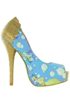 HEELS-Lollipop-Lorelei-Peep-Toe-Platforms-IRON-FIST-Pop-Culture-Collectable