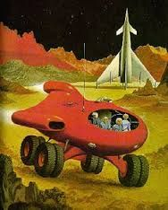 Image result for sci fi car retro