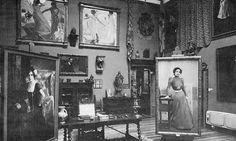 Joaquín Sorolla (Spanish, 1863 – 1923) studio, Madrid, 1912.