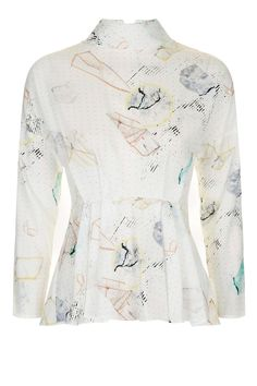 80s Astrology Blouse - Topshop