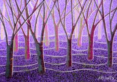 Purple and Lavender Trees Fantasy Landscape Painting Small Format Art Lavender Landscape Purple Fantasy Fantasy Landscape Abstract Landscape Surreal Landscape Lavender Landscape Tree Landscape Surreal Trees Fantasy Wall Art Surreal Decor Lavender Decor Tree Wall Art Lavender Pointillism Enchanted Forest 67.00 USD #goriani