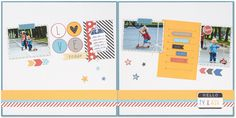 Ideas for how to use pocket scrapbooking cards on your traditional layouts. #ctmh #closetomyheart #pocketscrapbooking #picturemylife #scrapbookingideas #scrapbooking