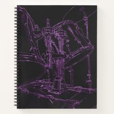 Drummer Notebook Snare Drum Kit Coil Note Book custom gift ideas diy