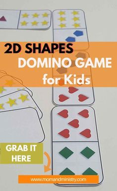 Free 2 D Shapes Printable to help you child match five 2D shapes and 6 colors in a fun way. Helps reinforce your young child ability identify these shapes and match them together. Also great for children to learning to add small sets of number. Use individually or as a small group activity. #colors#2dshapes#printablegamesfor children 2d Shapes Activities, Activities For 2 Year Olds, Indoor Activities For Kids, Kids Learning Activities, Fun Activities For Kids, Infant Activities, Kids Fun, Preschool Activities, Math Sheets