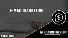 E-mail marketing E-mail Marketing, Online Marketing, Creer Un Site Web, Email Campaign, Le Web, New Market, Email List, Problem Solving, Place