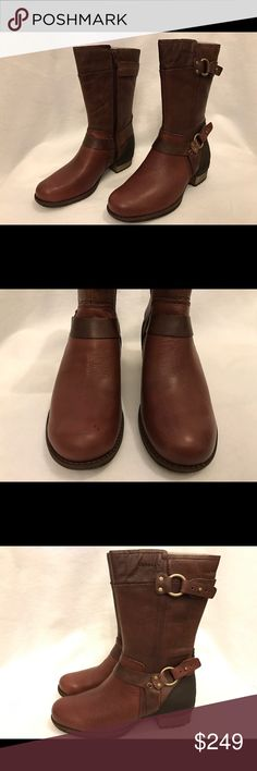 Merrell chocolate brown women boots 6.5M New in box Merrell Shoes Combat & Moto Boots