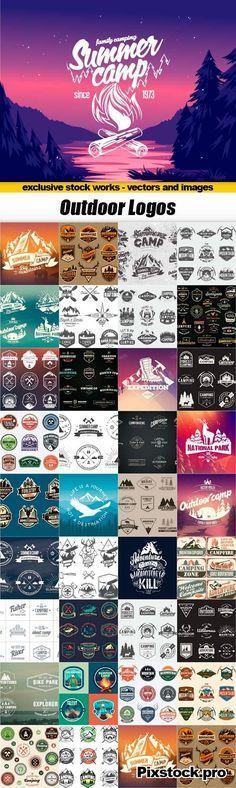 Outdoor logos - 35x EPS